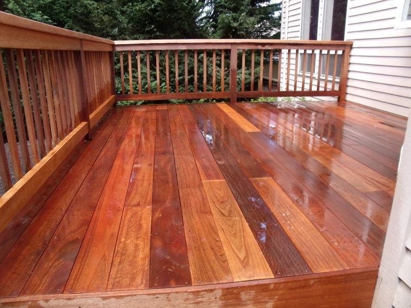 This Is Deck Made Of Mahogany I Use Special Methodes To Bring Back The Original Look Your